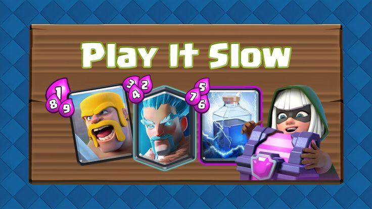 Spielen Sie Clash Royale langsam, oder gehen Sie den Abbruch