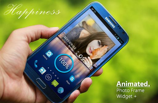 Animated Photo Frame Widget  v6.9.1   Animated Photo Frame Widget  v6.9.1Requirements:3.0Overview:The most gorgeous the most powerful photo slideshow application. The best Photo Widget with lots of elegant photo frames on Google Play  The most gorgeous the most powerful photo slideshow application. The best Photo Widget with lots of elegant photo frames on Google Play.  Paid version features  Slideshow interval can be choosed  One click shuffle all your photos  4 in 1 photo frame widget…