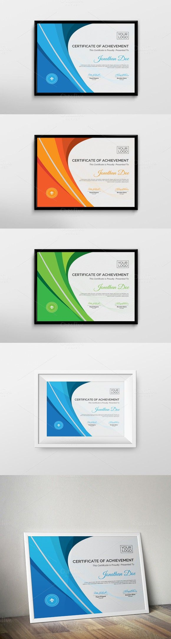 The 25 best certificate of achievement template ideas on certificate of achievement alramifo Gallery