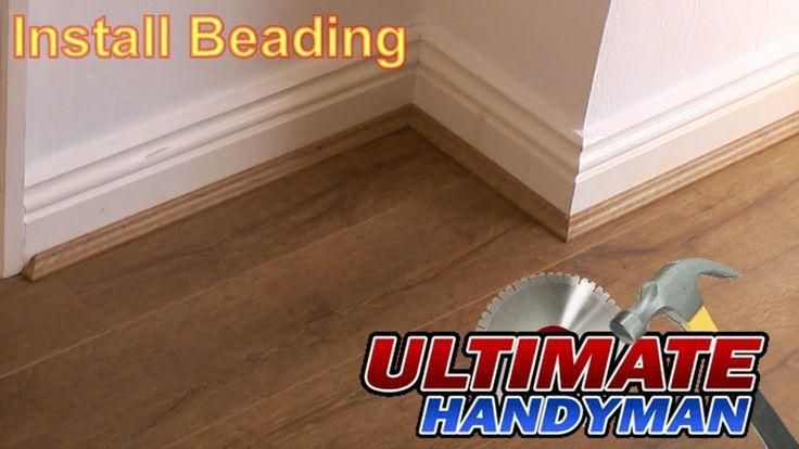 Wonderful Pic Laminate Flooring Beading Ideas Installing