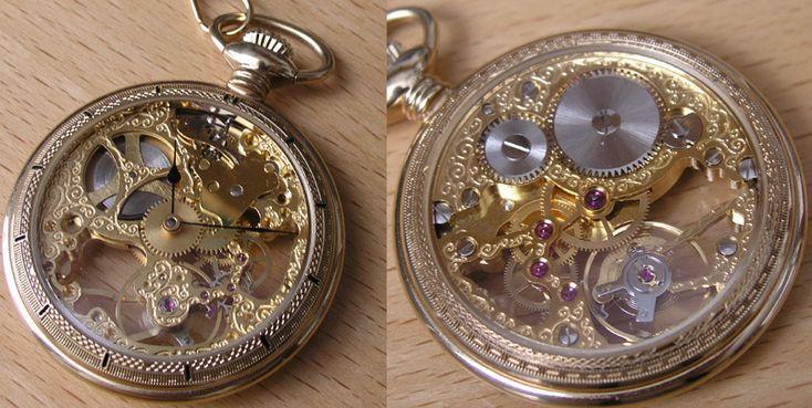 beautiful pocketwatch