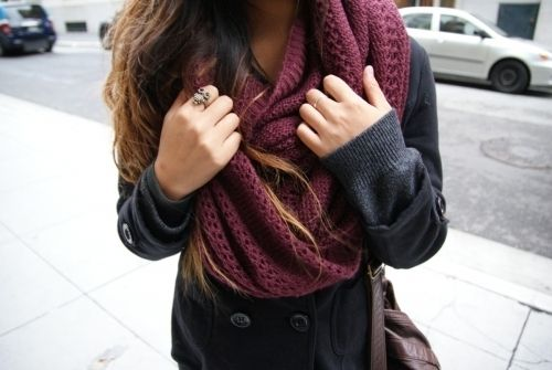 scarves, my weakness <3: Winter, Knits Scarves, Style, Infinity Scarfs, Clothing, Fall Wins, Outfit, Big Scarves, Fall Fashion