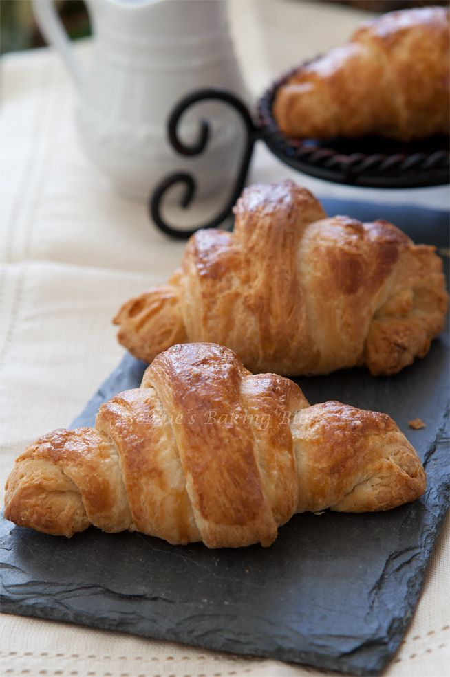 Gluten Free Pâte Croissant.  You'll Need: while milk, heavy cream, dry yeast, sugar, salt, brown sugar, sweet brown rice flour, sorghum flour, rice or corn starch, xanthan gum, and butter.