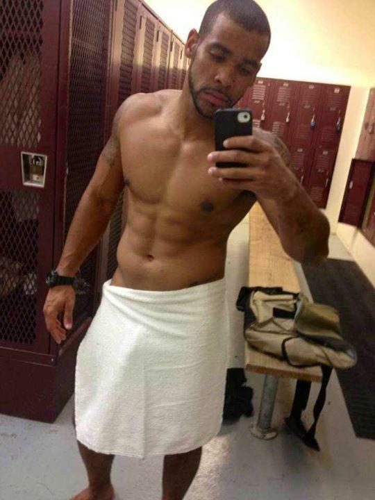 Black latino man naked