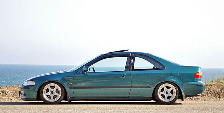 Honda Civic EG Coupe on Carving Lover Souls