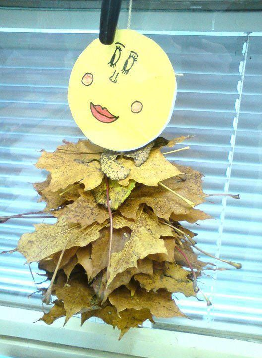 listí panáček