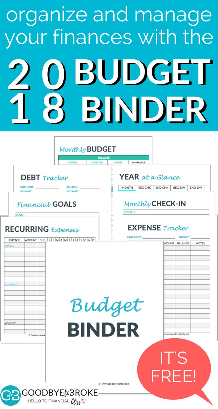 A budget binder is one of the easiest and simplest ways to manage your money. Check out this super helpful FREE printable budget binder and set up guide to start your budget binder today!  free printable | budget template | budget printable | budget binder #FinanceBinder