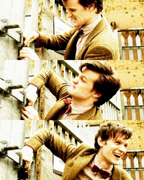 hehe: Locks Open, The Doctors, Doctorwho, Doctors Who, Matte Smith, Dr. Who, Matt Smith, 11Th Doctors, Eleventh Doctors