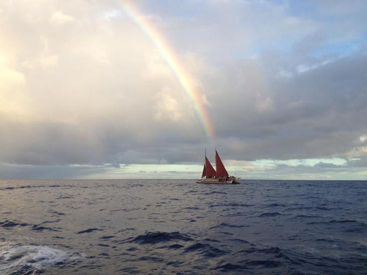 Guidance: Kahoolaw, Waa, Beautiful Photos, Hokulea, Wa A, Hōkūle A, Rainbows Sailboats