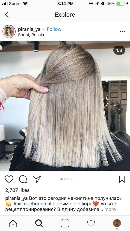 Longbob Schone Haare Haar Ideen Beige Blonde Haare