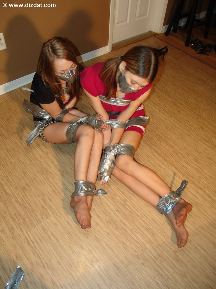 girl tape gagged