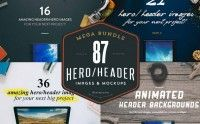 80+ Hero/Header Images – only $14!