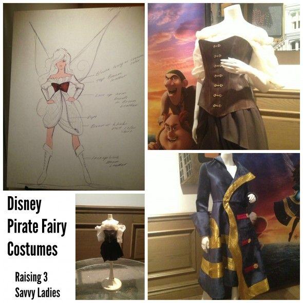 Disney Pirate Fairy Costumes Designed by Fashion Designer Christian Siriano