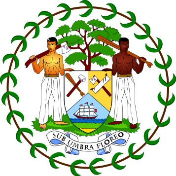 Belize:Coat of arms