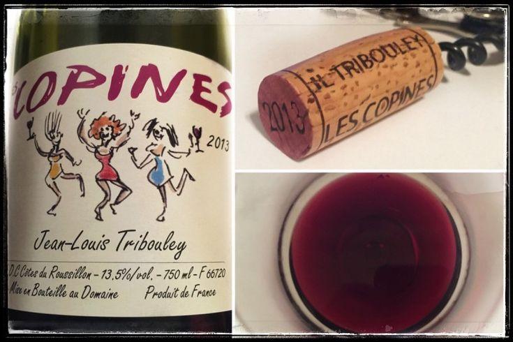 Domaine Jean-Louis Tribouley – Les Copines 2013 AOC Côtes du Roussillon http://intothewine.org/2015/10/02/domaine-jean-louis-tribouley-les-copines-2013-aoc-cotes-du-roussillon/