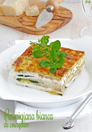 Parmigiana bianca de courgettes