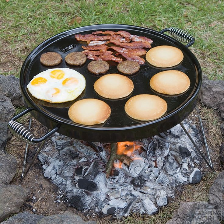 Campfire Griddle Grill - Bayou Classic 500-428 - Camp Stoves & Cookers - Camping World