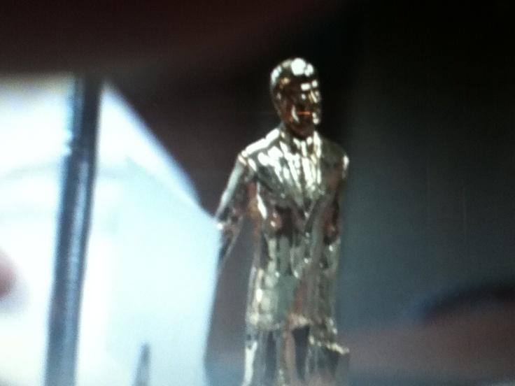 Michaels statue/dundy award