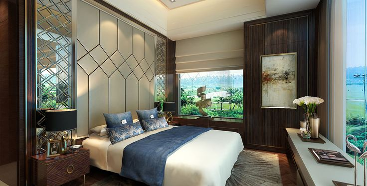 Lippo Village Show Flat with a golf view in Tangerang, Indonesia designed by Studio HBA