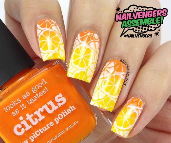 Nail art designs yellow and orange great photo blog about nail art designs yellow and orange prinsesfo Image collections