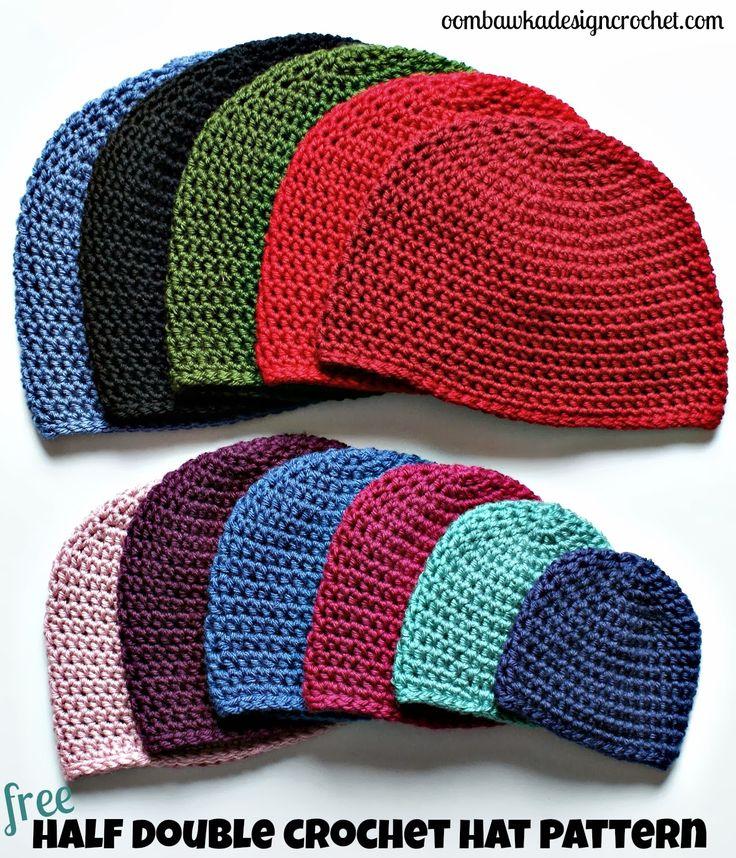 Crochet Hat Pattern - Free Crochet Pattern • Oombawka Design Crochet