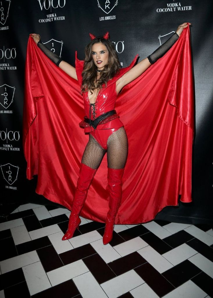 Alessandra Ambrosio - Heaven and Hell Halloween Party : Global Celebrtities (F) FunFunky.com