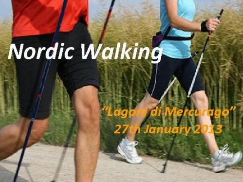 Nordic walking all together... It could be also a great idea for an Incentives activity!