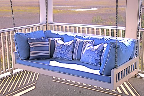 17 Best Images About Relaxation Porch Swing Beds On Pinterest Sleeping Porch Nautical And
