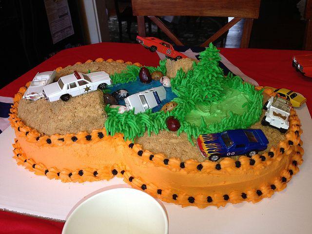 Dukes Of Hazzard Birthday Cake 2013 04 06 079 Via Flickr