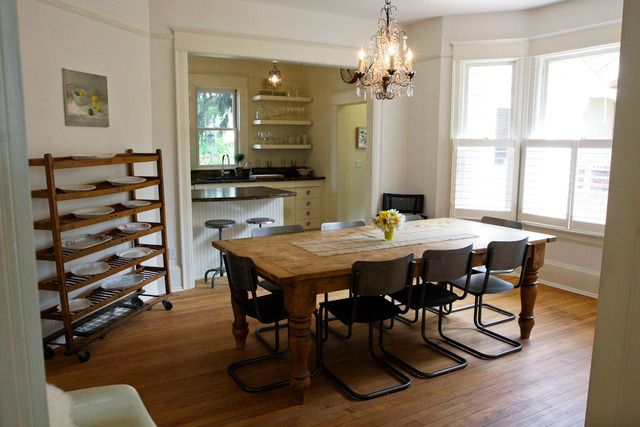 transition: House Tours, Dining Rooms, Woods Tables, Mapleton Hill, Apartment Therapy, Cozy Mapleton, Farms House Tables, Blackburn Cozy, Paige Blackburn