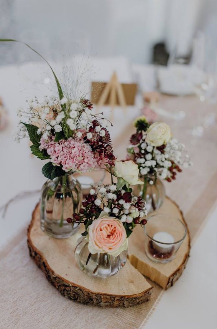 Lockere und liebevolle DIY Hochzeit im Vintage Flair auf Gut Hohenholz – Hochzeit Tischdeko