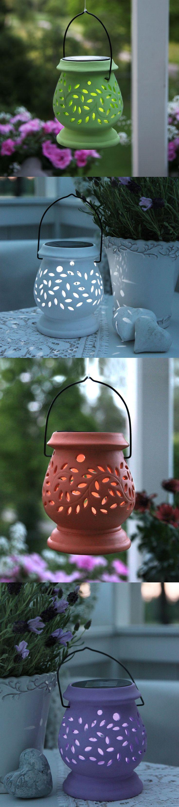 Solarne laterny, idealne na taras lub do ogrodu ! Znajdziecie je tutaj → http://bit.ly/LaternaSolarna