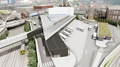Bolton bus station design