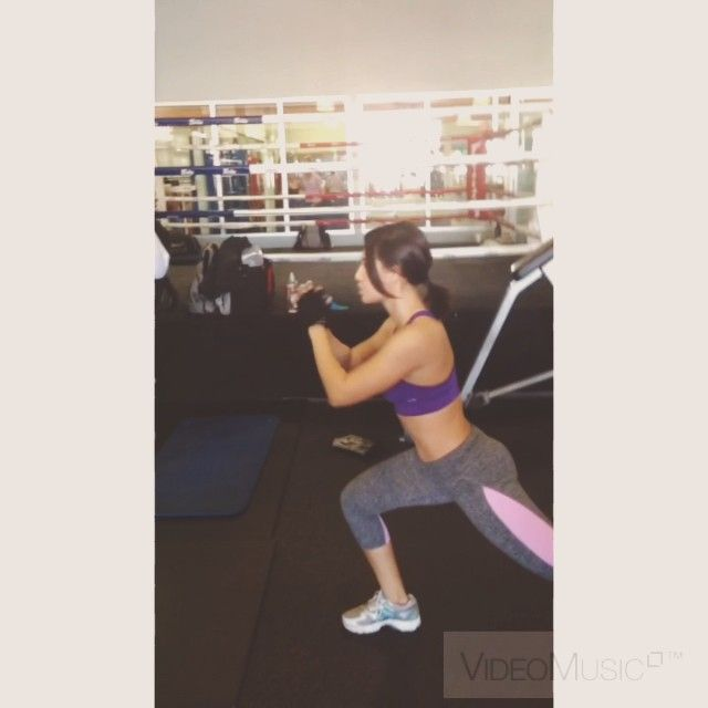 Pin for Later: Francia Raisa's Instagram Contains All the Motivation You Need to Get to the Gym When We Weren't Even Sure How She Was Doing This