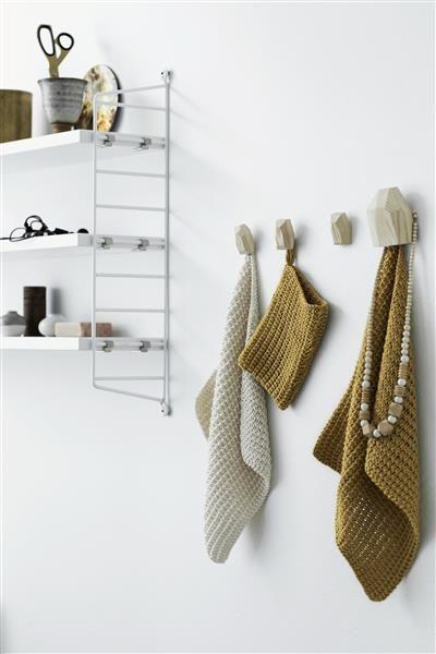 T44: Design 8 Klut og hanske med strukturmønster #bomull #cotton #strikk #knit #klut #washing