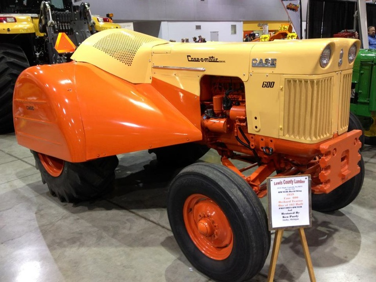 Cool old Case tractor