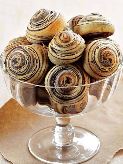 Kakaolu ve vanilyalı çörek Tarifi - Hamur İşleri Yemekleri - Yemek Tarifleri