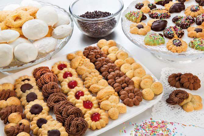 Con la sparabiscotti Cookies fai tanti e buonissimi biscotti.