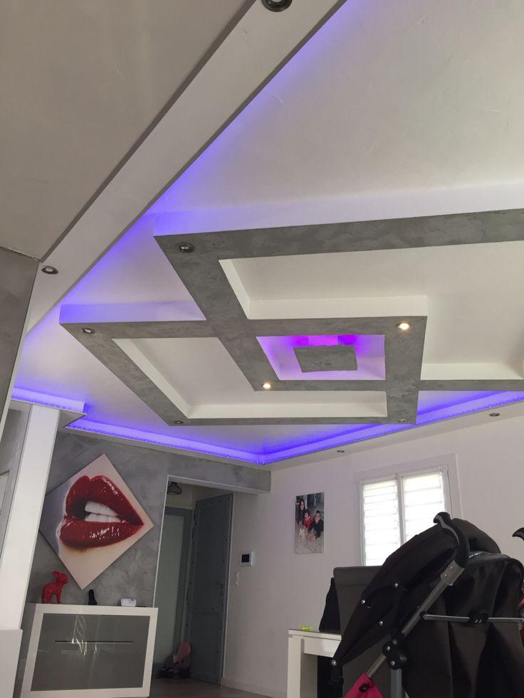 best 25 plafond en placo ideas on pinterest faux plafond placo chambre avec plafond haut and. Black Bedroom Furniture Sets. Home Design Ideas