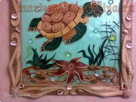 Мастер-класс по филиграни из джута: Картина