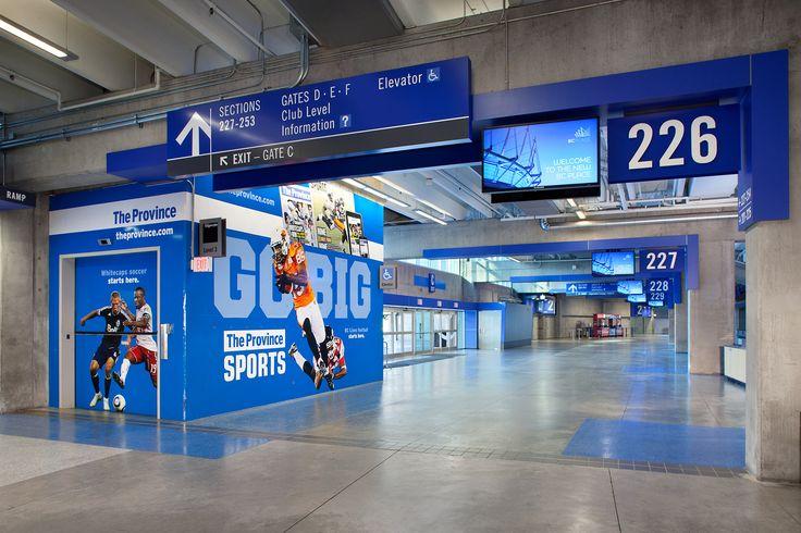 BCPlace_Level 200 Concourse Wayfinding design
