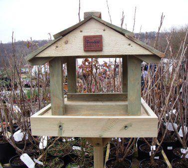 standard bird table The Wooden Workshop