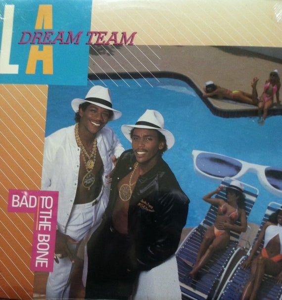 L A Dream Team Bad To The Bone Sealed Vinyl Hip Hop Record Etsy In 2021 Dream Team Hip Hop Classics Bad To The Bone