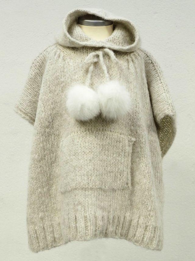 knitted hoodie?