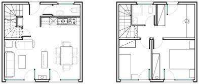 planos de casas economicas casa cubo m x qubichouse concept planos de casas gratis y en venta planos pinterest