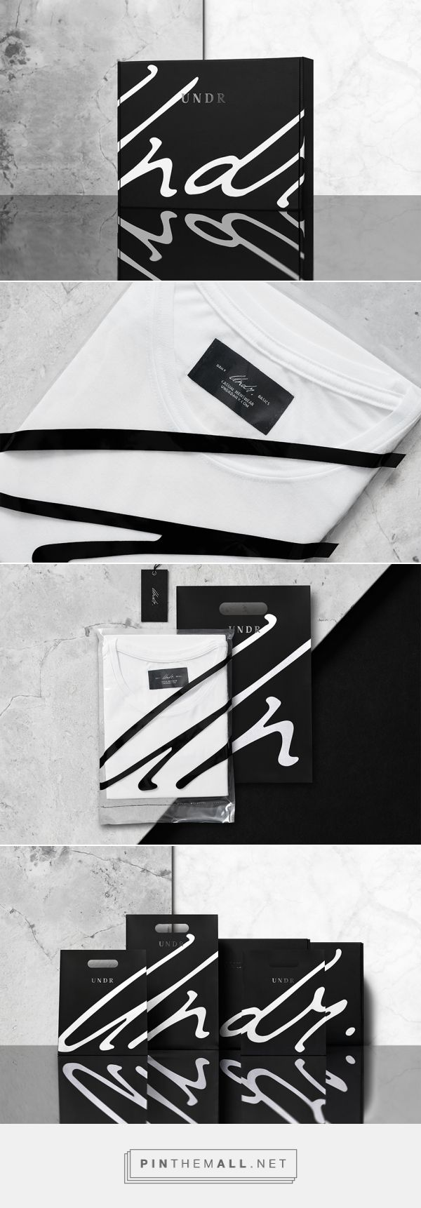Undr | Branding & packaging | Undr constitutes a brand of men's basics and underwear garments.