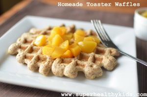 Flax Freezer Waffles- Homemade and Toaster Ready | Blog