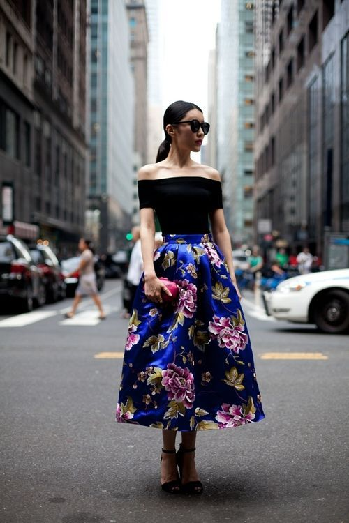 How To Wear A Midi Skirt 15 Different Ways - Latest trends and fashion advice at www.littlepinkmoto.com