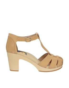 Image 1 ofA�Swedish Hasbeens Duck Toe Heeled Sandal | See more about Swedish Hasbeens, Heeled Sandals and Ducks.