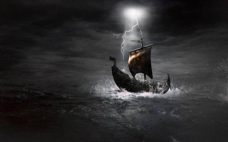 17 Best images about Viking Ships on Pinterest | Viking ...Viking Ship Storm